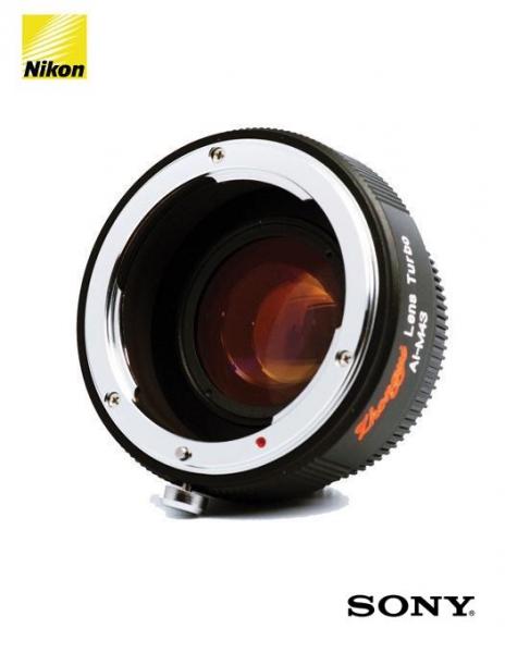 ZY Optics Lens Turbo adaptor obiective Nikon pentru Sony 0