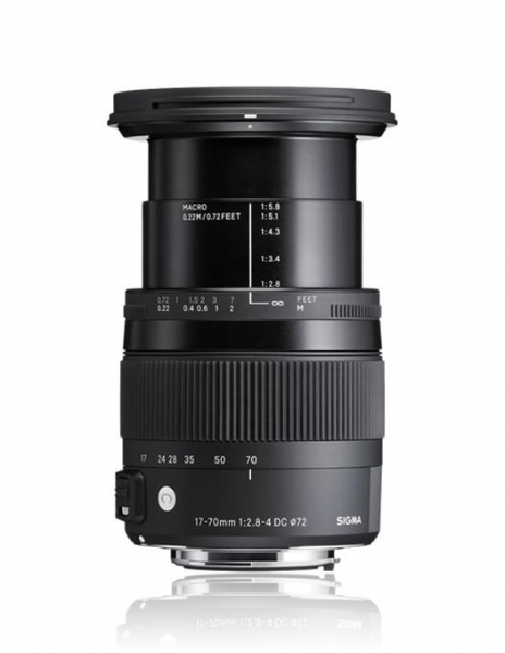 Sigma 17-70mm Obiectiv foto DSLR f2.8-4 DC Macro OS HSM C CANON 2