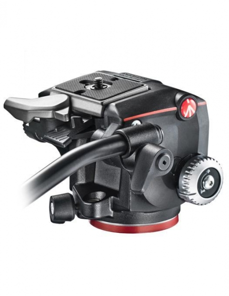 Manfrotto MHXPRO-2W Fluid cap trepied video 1