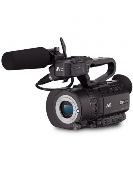 Pachet JVC GY-LS300CHE 4K Camera Video Super 35mm + Manfrotto CC 193N geanta video + Kit  MVK500AM trepied video 0