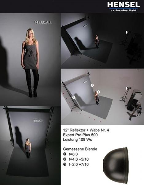 Hensel reflector 30cm 9601 3