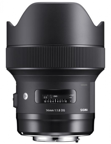 Sigma 14mm Obiectiv Foto DSLR f1.8 DG HSM ART NIKON 0