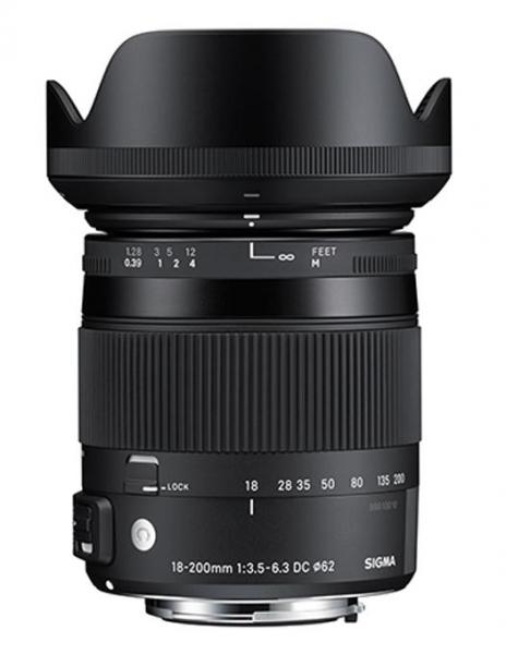 Sigma 18-200mm Obiectiv Foto DSLR f3.5-6.3 DC Macro OS HSM C CANON 2