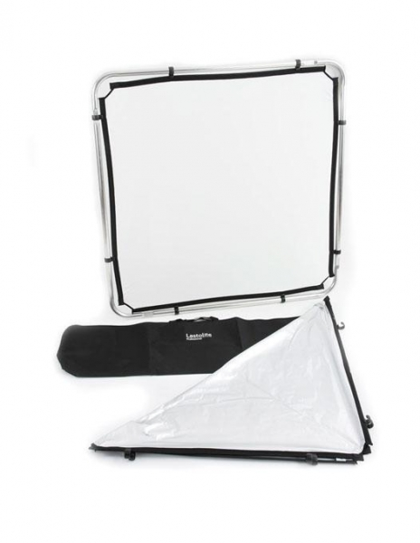 Lastolite Skylite Rapid Kit Cadru cu panza Silver/White & Difuzie 1x1m [0]