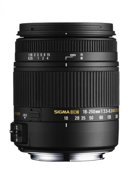 Sigma 18-250mm F3.5-6.3 DC MACRO OS HSM Canon 0