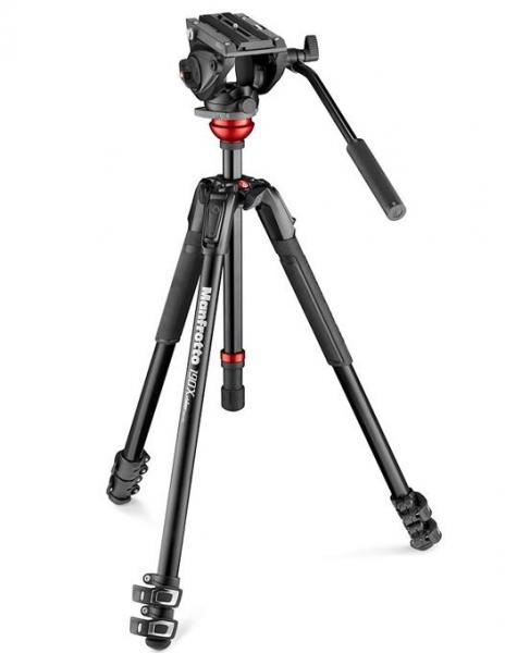 Manfrotto Kit video interviu MVK500 cu LED si microfon 1