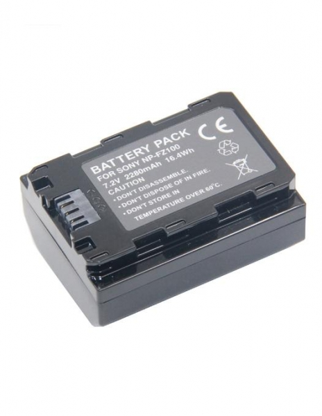 Digital Power NP-FZ100 Acumulator pentru Sony A7 III A7M3 ALPHA 7 III A7 R III A7RM3 7 R III A9 2
