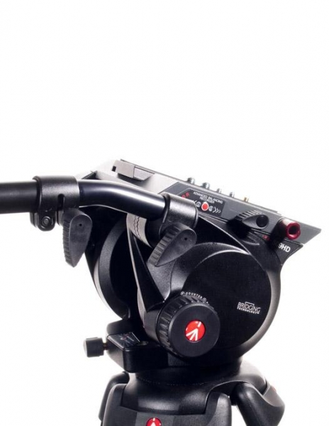 Manfrotto cap trepied video 509HD 6
