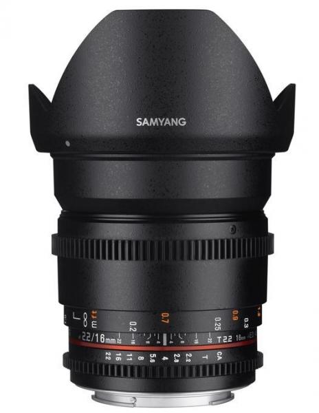 Samyang 16mm T2.2 Nikon VDSLR 0