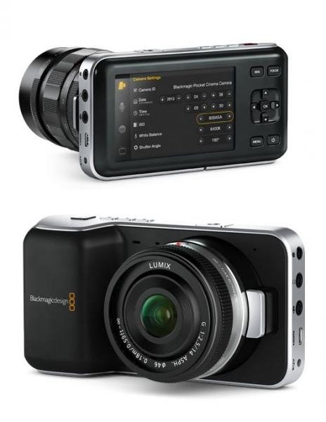 Blackmagic Pocket Cinema Camera Open box 1