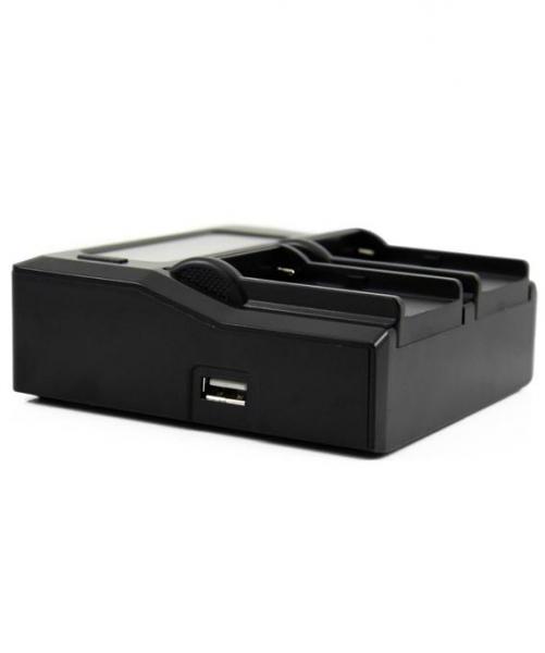 Digital Power Incarcator dual LCD compatibil Acumulator Sony NP-FV100 3