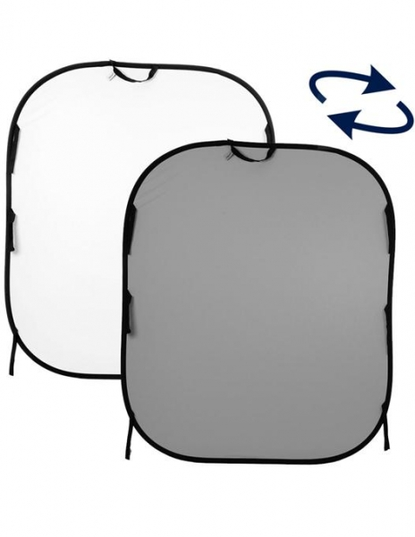 Lastolite Fundal pliabil Alb/Gri 1.5x1.8m 0