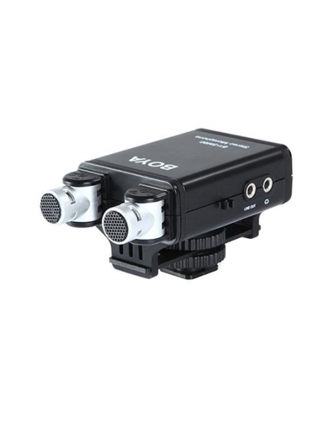 Boya BY-SM80 microfon stereo condenser 4