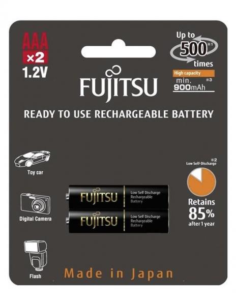 Fujitsu Acumulator Black PRO 2 x AAA 900MA 0