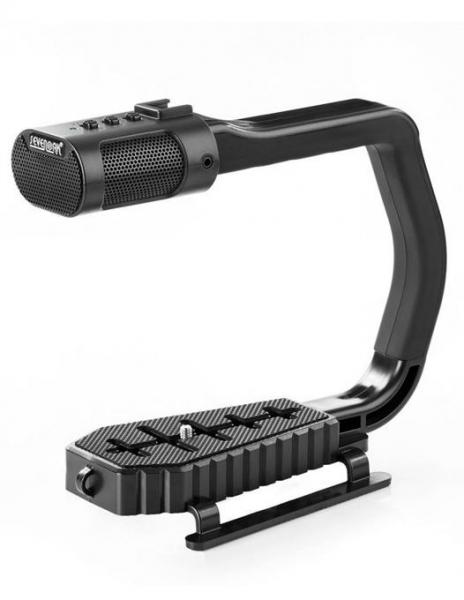 MicRig Stereo maner cu microfon pentru camere video 1