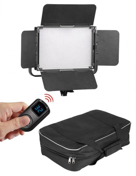 Tolifo GK-S60 Lampa Video LED Bicolor si RGB 600 0