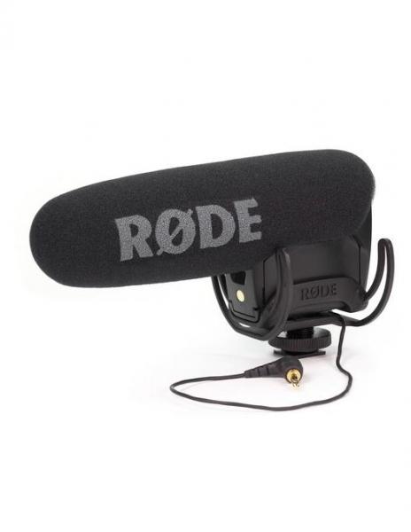 Rode Videomic Pro R microfon cu sistem de suspensie Rycote Lyre 0