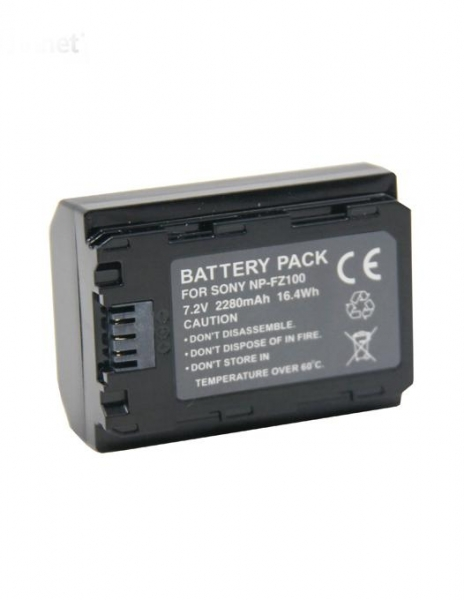 Digital Power NP-FZ100 Acumulator pentru Sony A7 III A7M3 ALPHA 7 III A7 R III A7RM3 7 R III A9