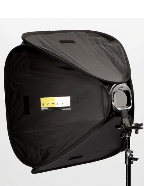 Lastolite Ezybox Hotshoe Kit softbox strobist 90x90cm 4