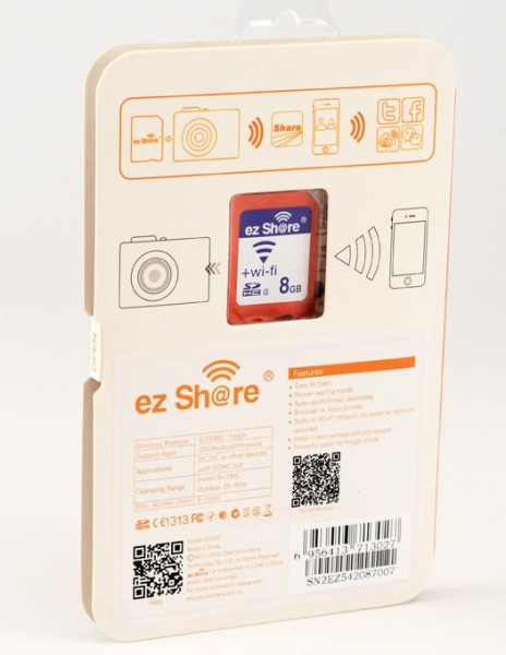 EzShare Card Wi-Fi 8Gb 1