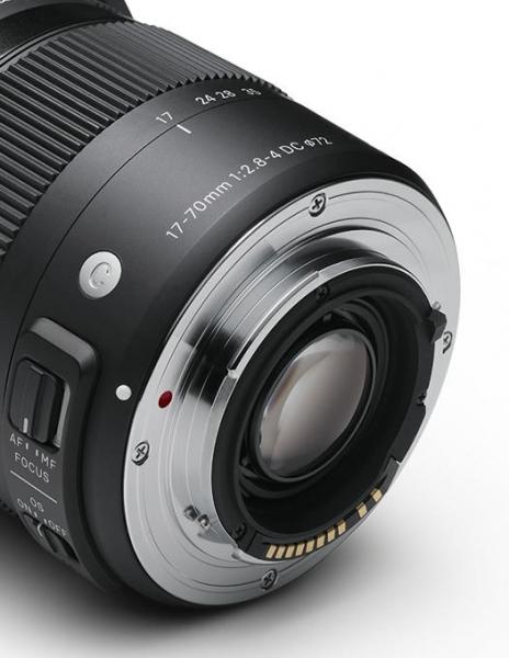 Sigma 17-70mm Obiectiv foto DSLR f2.8-4 DC Macro OS HSM C CANON 3