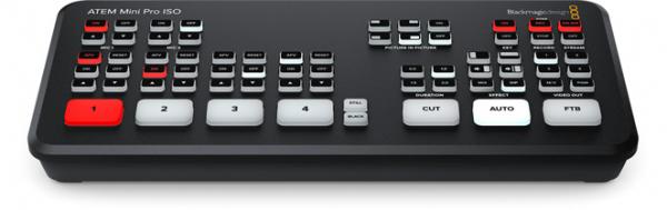 Blackmagic Design ATEM Mini Pro ISO, HDMI Live Stream switcher video [0]