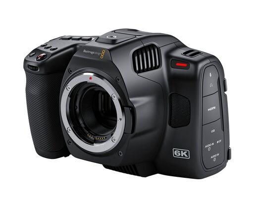 Blackmagic Pocket Cinema Camera 6K PRO cu 2 acumulatori si incarcator [0]