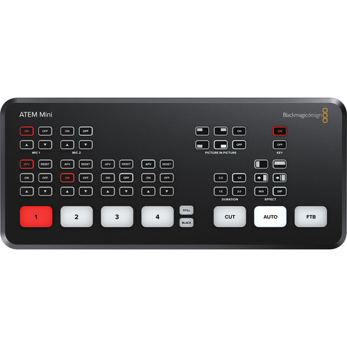 Blackmagic Design ATEM Mini HDMI Live Stream Switcher 0