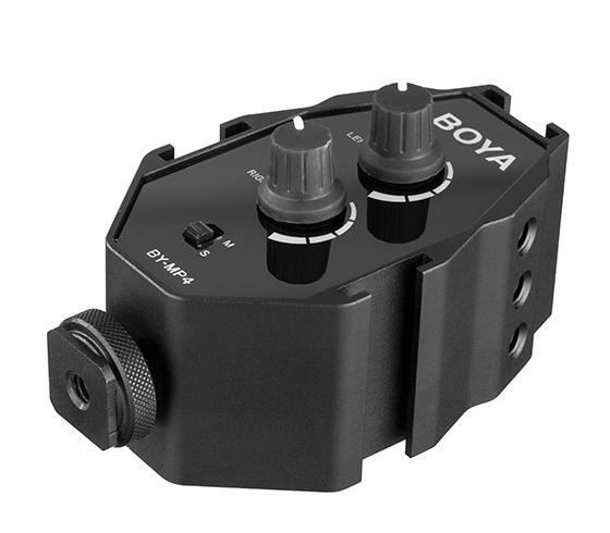 Boya BY-MP4 adaptor audio smartphone dslr sau camcorder 3