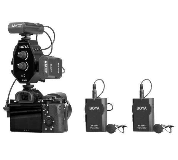Boya BY-MP4 adaptor audio smartphone dslr sau camcorder 4