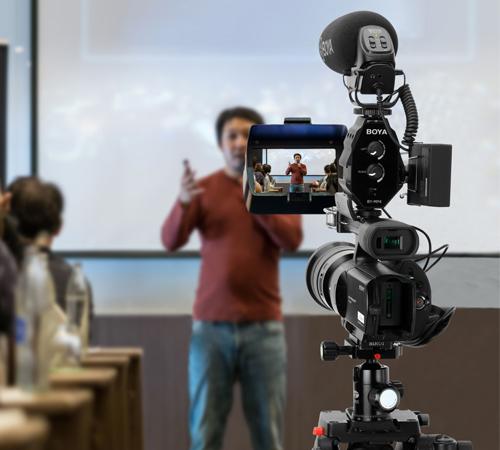 Boya BY-MP4 adaptor audio smartphone dslr sau camcorder 5