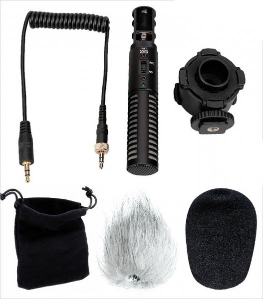 Boya BY-PVM50 Microfon Stereo cu Shock-mount 1