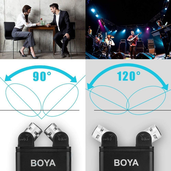 Boya BY-SM80 microfon stereo condenser 9