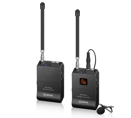 Boya BY-WFM12 VHF lavaliera wireless 0