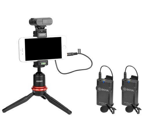 Boya BY-WM4 Pro-K2 Microfon tip Lavaliera Wireless Dubla 1