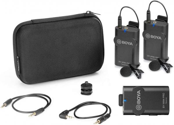 Boya BY-WM4 Pro-K2 Microfon tip Lavaliera Wireless Dubla 3