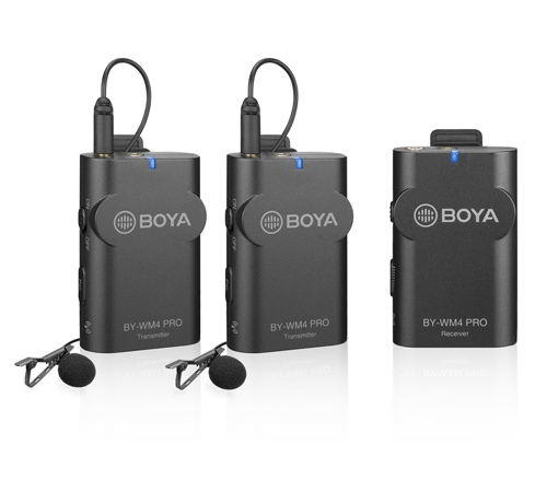 Boya BY-WM4 Pro-K2 Microfon tip Lavaliera Wireless Dubla 2