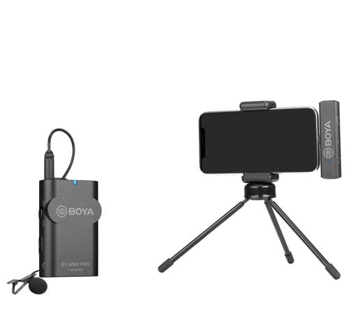 Boya BY-WM4 PRO K3 Lavaliera wireless pentru IOS [2]