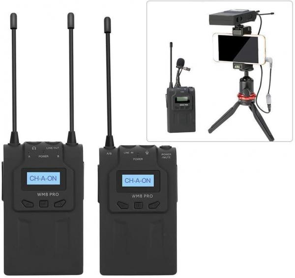 Boya BY-WM8 PRO K2 lavaliera dubla wireless 3