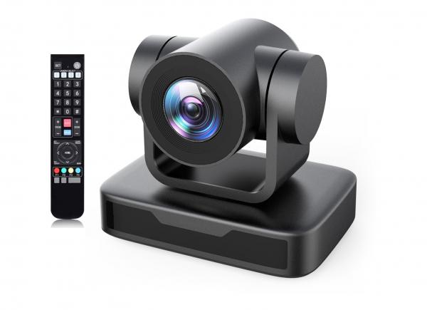 Kit lector Camera PTZ Full HD 1080 Zoom 10X USB 2.0 cu lavaliera Wireless 1