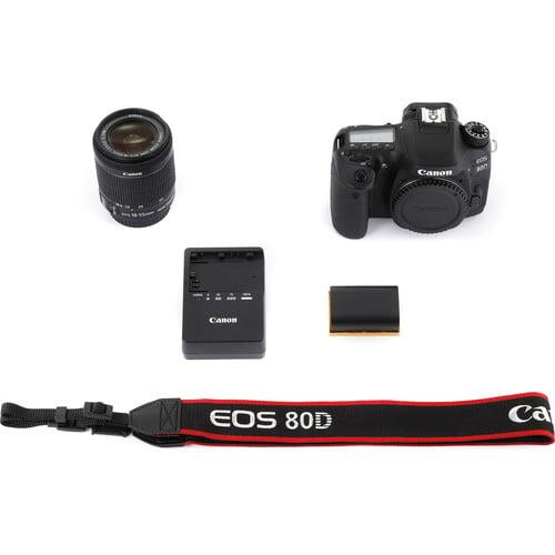 Canon EOS 80D Aparat Foto DSLR 24.2MP Kit cu Obiectiv EF-S 18-55 IS STM [9]