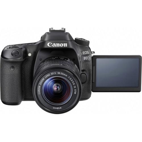 Canon EOS 80D Aparat Foto DSLR 24.2MP Kit cu Obiectiv EF-S 18-55 IS STM [6]