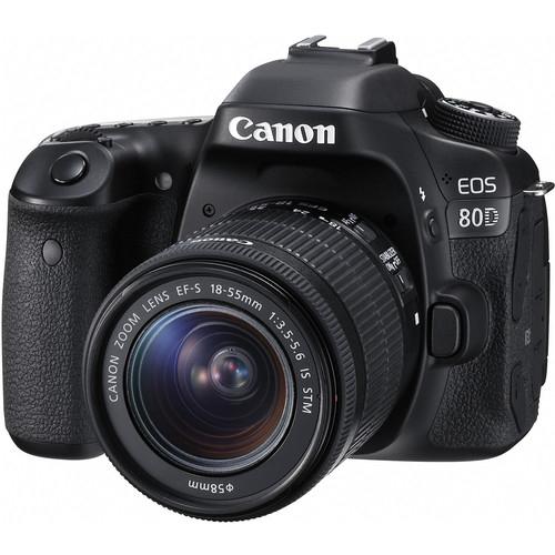 Canon EOS 80D Aparat Foto DSLR 24.2MP Kit cu Obiectiv EF-S 18-55 IS STM [1]