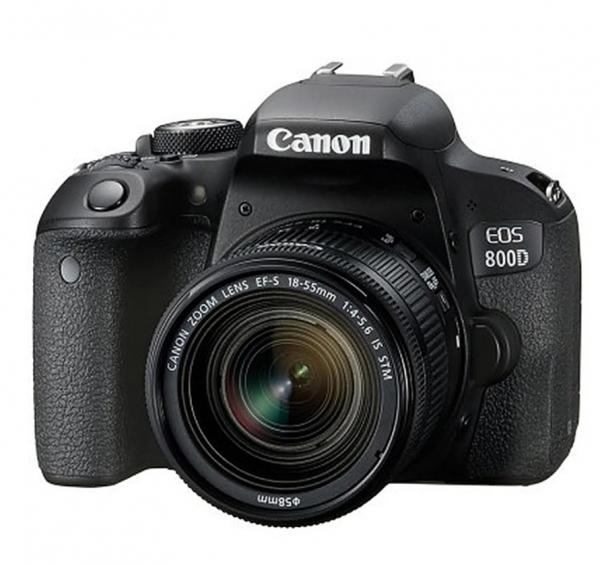 Canon EOS 800D Kit Aparat Foto DSLR 24.2MP cu Obiectiv EF-S 18-55mm f/4-5.6 IS STM 0