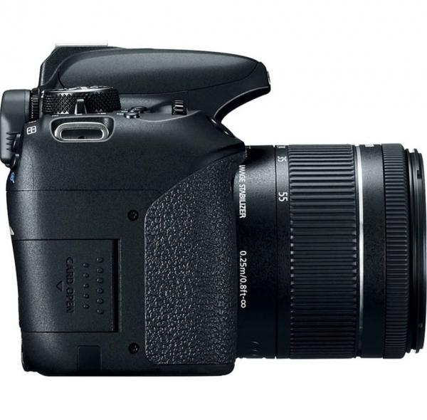 Canon EOS 800D Kit Aparat Foto DSLR 24.2MP cu Obiectiv EF-S 18-55mm f/4-5.6 IS STM 1