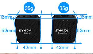 Synco G1 Lavaliera Wireless compact 10