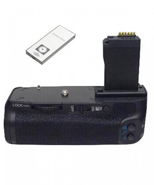 Digital Power Grip cu telecomanda compatibil Canon 750D / 760D 0