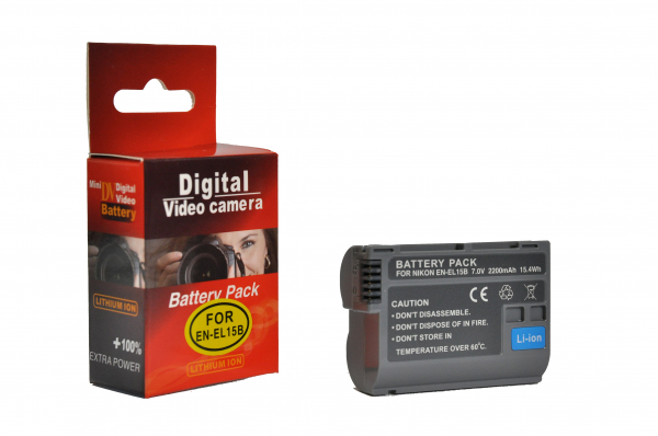 Digital Power EN-EL15B 2200mAh Acumulator compatibil Nikon 0