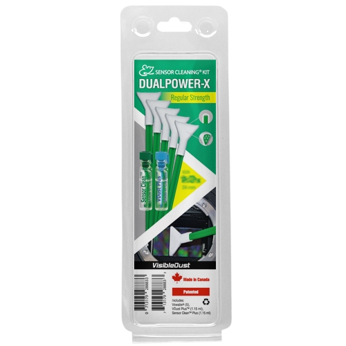 Visible Dust DUALPOWER-X Kit curatare senzor Crop 16mm 1.6X [0]