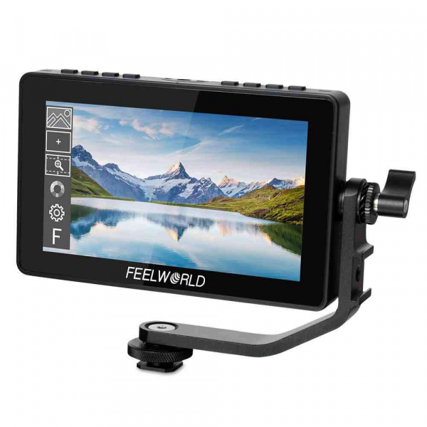 "Feelworld F5PRO Monitor IPS 4K 5.5"" Touchscreen HDMI 0"